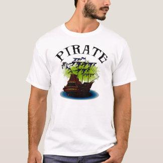 Piraten-Geist-Schiffs-grundlegendes T-Shirt
