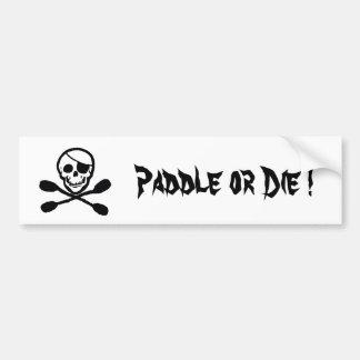 Piraten-Kajak-Flaggen-Autoaufkleber Autoaufkleber