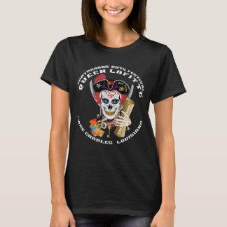 Piraten-Königin 1 1 und 2 Front und Rückseite T-Shirt