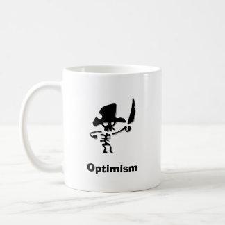 Piraten-Optimismus Kaffeetasse