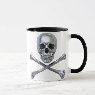 Piraten-Schädel-Knochen Tasse