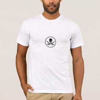 Piraten-Schädel-Schwerter T-Shirt