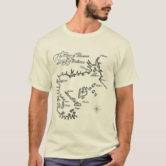 Piraten-Schatz-Karte (2 mit Seiten versehen) T-Shirt