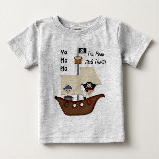 Piraten-Schiffs-Schatz-Baby T-shirt