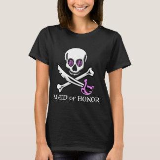 Piraten-Trauzeugin T-Shirt