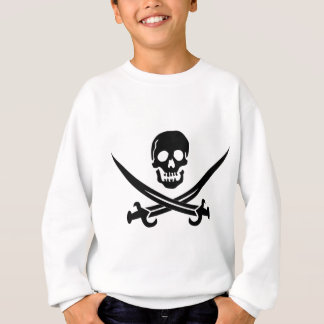 Piratenflagge Sweatshirt