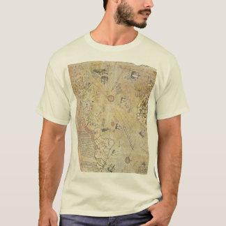 Piri Reis Weltkarten-T - Shirt