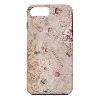 Piri Reis Welts-Karte iPhone 8 Plus/7 Plus Hülle