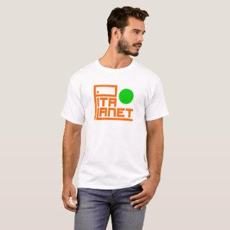 Pita-Planeten-Hauptleitung (grüner Planet) T-Shirt