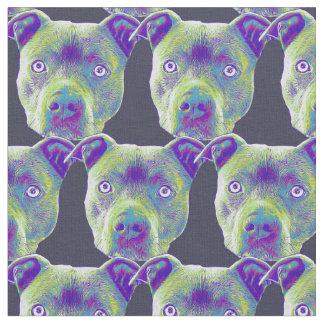 Pitbull Hundgewohnheits-Gewebe Stoff