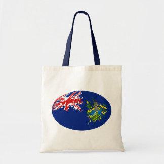 Pitcairn-Insel-Gnarly Flaggen-Tasche