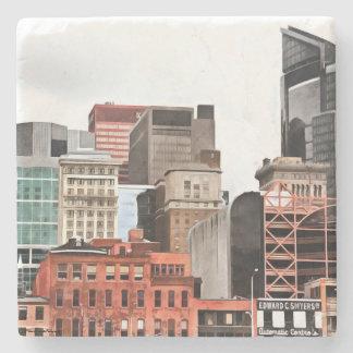 Pittsburgh-Untersetzer Steinuntersetzer