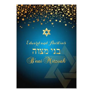 PixDezines BLENDETE GOLD/B'nai Mitzvah/DIY Farbe 12,7 X 17,8 Cm Einladungskarte