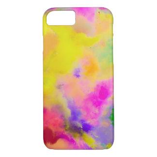PixDezines Farbe laufen gelassen gerade für Spaß iPhone 8/7 Hülle