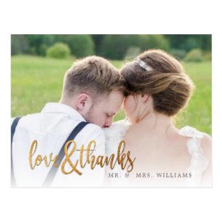 PixDezines Hochzeit danken Ihnen/Spaß-Skript Postkarten