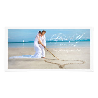 PixDezines Hochzeits-Foto danken Ihnen Foto Karte