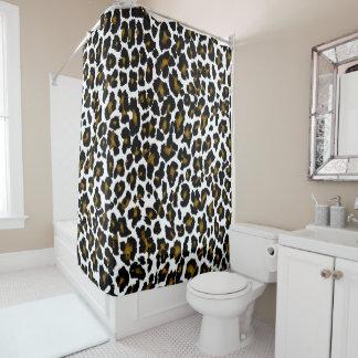 PixDezines Leopard/DIY Hintergrund Duschvorhang