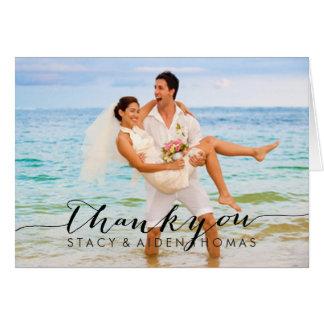 PixDezines Mr.& Frau Fotos danken Ihnen Karten