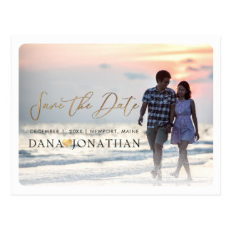 PixDezines Save the Date/cooles handgeschriebenes Postkarte
