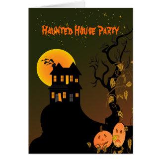 PixDezines Spuk Manson, Halloween Karte