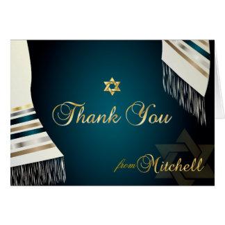PixDezines Tallit Mitzvah danken You/DIY Farbe Mitteilungskarte