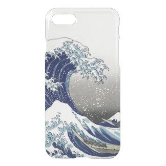 PixDezines Vintag, große Welle, Hokusai 葛飾北斎の神奈川沖浪 iPhone 8/7 Hülle