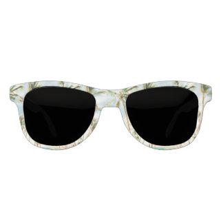 PixDezines Vintager hawaiischer Strand/blauer Sonnenbrille