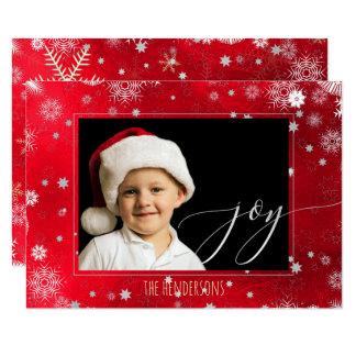 PixDezines Weihnachtsfeiertags-Foto/Kalligraphie Karte
