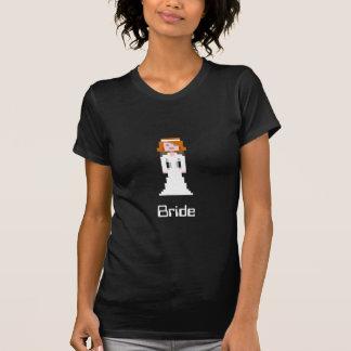 Pixel-Braut T-Shirt