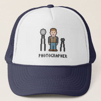 Pixel-Fotograf Truckerkappe