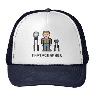 Pixel-Fotograf Truckermütze