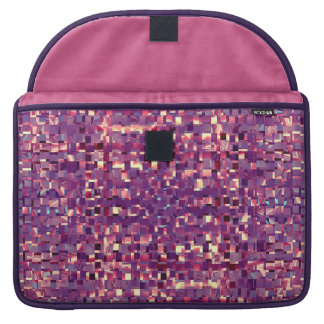 Pixelated lila Laptop-Hülse Sleeve Für MacBooks