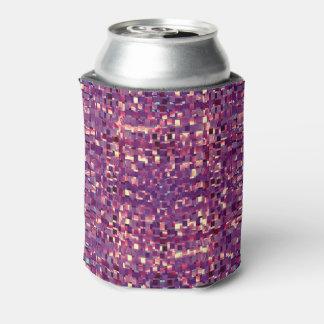 Pixelated lila Soda-Dose cooler