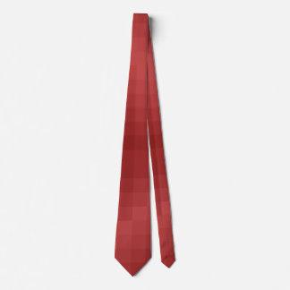 Pixels Rot Krawatte