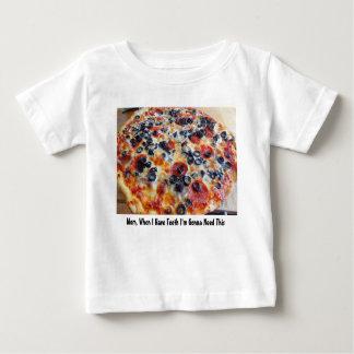 Pizza-Baby Baby T-shirt