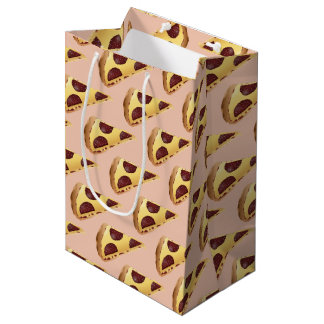 Pizza für die Leute Mittlere Geschenktüte