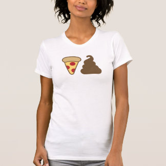 Pizza kacken T-Shirt