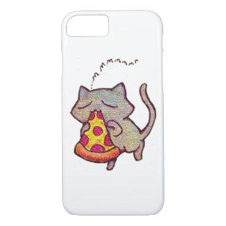 Pizza-Katze! iPhone 8/7 Hülle