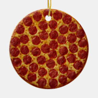 Pizza Keramik Ornament