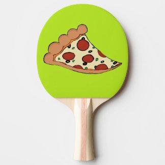 Pizza-Klingeln pong Paddel Tischtennis Schläger