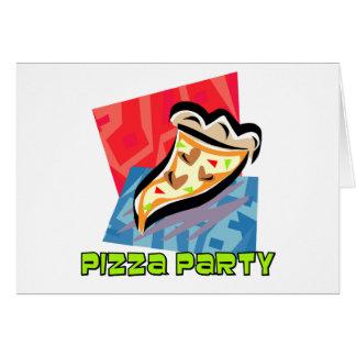 Pizza-Party 1 Karte