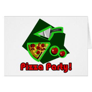 Pizza-Party 2 Karte