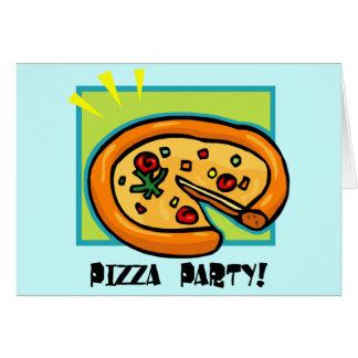 Pizza-Party 3 Karte