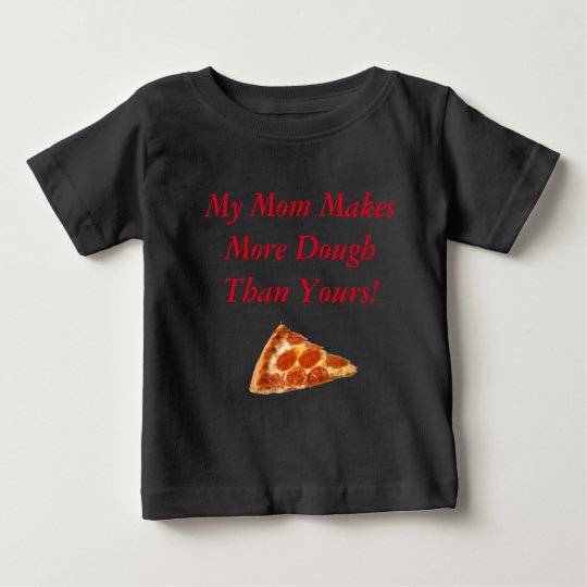 Pizza-Teig-Kind Baby T-shirt