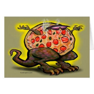 Pizza-Tier Karte