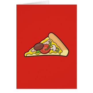 Pizzascheibe Karte