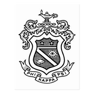 PKP Wappen-Schwarzes Postkarte