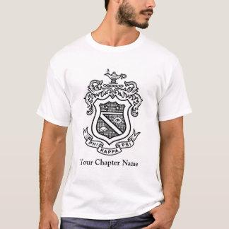 PKP Wappen-Schwarzes T-Shirt
