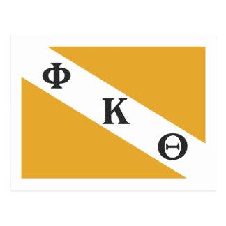 PKT Flagge Postkarte