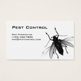 Plage-Kontrollen-Geschäfts-Karten-Fliege Visitenkarten